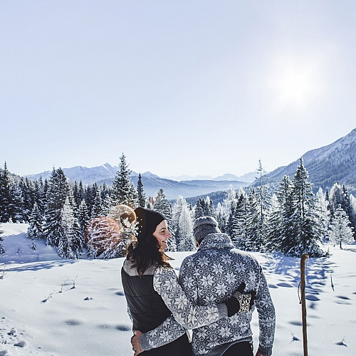Holiday in winter in Seefeld